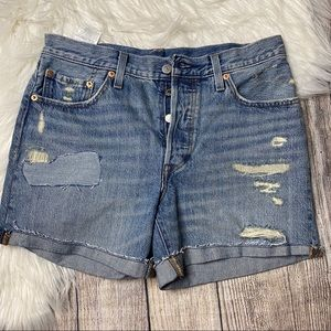 Levi's 29 High Rise Vintage-style Shorts